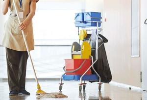 Работы по уборке помещений